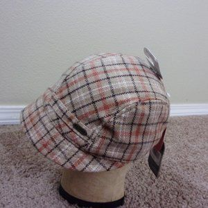 Pistil Hat Newsboy Plaid New
